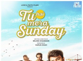 The poster of the film which received a great response at MAMI last year has been launched today. The poster gives out the initial story of Milind Dhaimade's Tu Hai Mera Sunday, which is about 5 friends hunting for space in Mumbai to play their favorite sport, football. The cast is very different and gives out the indie vibe! The television heartthrob Barun Sobti, Shahana Goswami, Vishal Malhotra, Manvi Gagroo, Rasika Dugal, Vishal Malhotra, Avinash Tiwary, Jay Upadhyay, Shivkumar Subramaniam and Nakul Bhalla are a part of this fun film.