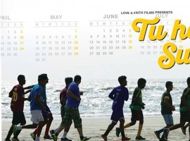 The poster of the film which received a great response at MAMI last year has been launched today. The poster gives out the initial story of Milind Dhaimade's Tu Hai Mera Sunday which is about 5 friends hunting for space in Mumbai to play their favorite sport, football.