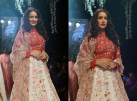 Rahul Mishra has maintained distance from calling a Bollywood face as a showstopper. But for his show at the Lakme Fashion Week (LFW) Winter/Festive 2017, actress Shraddha Kapoor turned his muse and walked the runway. The designer says that as a brand they are evolving and it won't be nice to remain rigid to certain things.