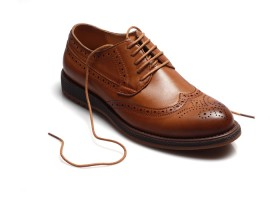 Corporate shoes: Lace-up dress shoes would be perfect for making an impression in client meetings and office conferences. A black suit should always be matched with black shoes. A grey suit can be paired with either black or brown, likewise with navy blue and light blue suits.
