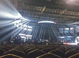 Vijay's Mersal audio launch: A glimpse at the arrangement of the Mega event.