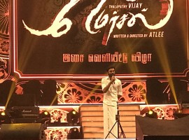 VIP 2 actor Dhanush spotted at Mersal audio launch.