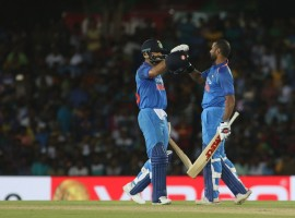 Dhawan slammed 132 runs in 90 balls while Kohli smashed 82 runs off 70 deliveries. Both players forged a 197-run partnership for the second wicket, the highest in Sri Lanka against Sri Lanka. It all went good for India in this match. After a little bit of punishment initially, their bowlers bounced back in style to restrict the hosts for 216 and then Dhawan and Kohli applied themselves perfectly to chase down the total with 21.1 overs (127 balls) remaining. This also helped them to record their biggest win, in terms of overs to spare, for a target of over 200. Coming in to chase a relatively low total, openers Rohit Sharma and Dhawan started the innings on a steady note but Rohit failed to support the Delhi batsman for long as he was dismissed in the fifth over with barely 23 runs on the board.