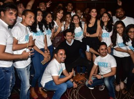 The recently released trailer of Judwaa 2 had a grand launch in Mumbai where the film team was accompanied by 100 twins from across India. The film trailer has received tremendous response from the audience present at the launch with applauds coming in from every corner. Even before the event could start, the Judwaa 2 team created a cheerful ambiance with the original Judwaa tracks playing in the background.