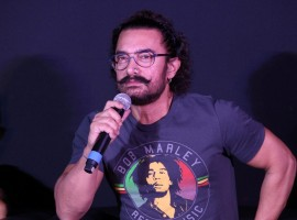 Bollywood superstar Aamir Khan on Monday introduced new singing talent Meghna Mishra, who has lent her voice for the upcoming film