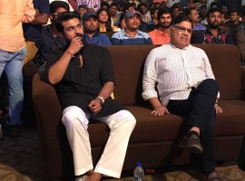 Mega hero's Ram Charan, Sai Dharam and Varun Tej at birthday celebration event.