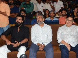 Director SS Rajamouli at Chiranjeevi's Sye Raa Narasimha Reddy Logo launch.