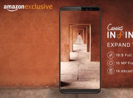 Micromax on Tuesday launched its first bezel-less smartphone
