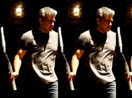 1. Thala Ajith: Just his screen presence is the only one thing is expected for his fans. But for this movie he has given a comeback with a dip of Hollywood style. Based upon the first look poster, he has trained so hard to relish his fans. He is acting as an international cop and also as a anti-terrorist squad player, with a twist of Hollywood backdrop.