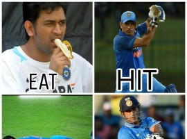 Captain Cool: MS Dhoni sleeps on field and Twitterati can't stop loving him