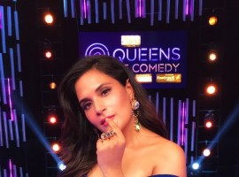 Richa Chadha recently commenced shoot for her much awaited TV debut with TLC's Queens of Comedy, which is a nation wide hunt for the next big female stand up comedian.