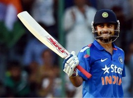 45th ODI fifty for Virat Kohli.12th fifty against Sri Lanka-the most against any opposition.