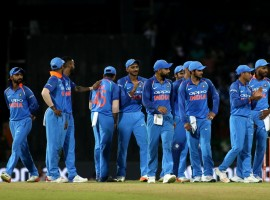 Disciplined bowling from Jasprit Bumrah, Pandya and Kuldeep Yadav helped India defeat Sri Lanka by 168 runs at R. Premadasa Stadium here on Friday to go 4-0 up in their five-match One-Day International (ODI) cricket series. Bumrah, Pandya and Yadav picked up two wickets each. The hosts lost wickets at regular intervals to be bundled out for 207 runs in 42.4 overs in reply to the visitors' 375 runs. Medium-pacer Shardul Thakur had a promising ODI debut for India picking up the wicket of Sri Lankan top order batsman Niroshan Dickwella. Chasing a mammoth target of 376 runs, the hosts were off to a horrible start and were reduced to 68/4 in 16 overs. Angelo Mathews (70) played a vital knock along with Milinda Siriwardana (39) to put up a 73-run stand before the latter was removed by Pandya.