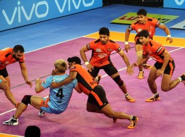 Bengal Warriors succumbed to their second defeat in as many days as former champions U Mumba beat them 37-31 in a second Inter Zone challenge week meet here at the Netaji Subhash Chandra Bose Indoor Stadium on Wednesday. Skipper Anup Kumar led from the front with eight raid points three tackle points while Kashiling Adake (eight points) and Shrikant Jadhav (eight points) starred for Mumbai too as they recorded their third win on the trot in Zone A.