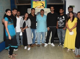 After hosting a screening of his much awaited film Daddy for his friends and family, actor Arjun Rampal recently hosted a special screening for Arun Gawli's family and friends.