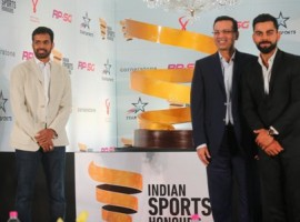 India cricket skipper Virat Kohli and Chairman of RP-SG Group Sanjiv Goenka on Friday launched the RP-Sanjiv Goenka Indian Sports Honours, which is dedicated to reward excellence in the field of sports. These sports awards will also help identify and support athletes with potential and award them scholarships, organisers said. Kohli and Goenka have jointly partnered to create this platform to honour exceptional performances, in line with their vision to support the development of Indian Sports.