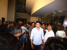 Actor Mahesh Babu at Spyder audio launch.