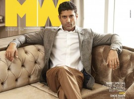 Farhan Akhtar looks uber cool as he posed on the cover of Man's World magazine. The actor is all decked up has he slays the look in a formal suited avatar for the September issue of the magazine. Farhan Akhtar has featured in the cover story as he shares,
