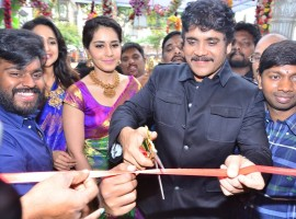 Nagarjuna launches South India Shopping Mall.