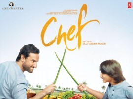 The father-son bond looks wonderful in this new fun poster of Chef.