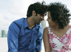 Tu Hai Mera Sunday is an upcoming film based on the life of five friends struggling to find a place in Mumbai to play football. The film is filled with many funny scenes while they are struggling to find a space to play. In a particular scene Barun Sobti and Shahana Goswami had to shoot a kissing scene on the top of a high storey building terrace. But Shahana requested not to do this scene and the reason being that she fears height. But the cast and crew helped boost her confidence and she managed to get the shot perfectly.