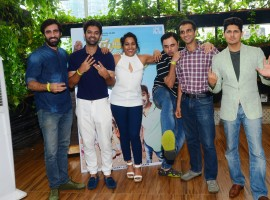The cast of the upcoming film Tu Hai Mera Sunday got their Sunday fun vibes on with a special curated event hosts for them at the popular hangout place, Verbana Sky Gardens in Southern Mumbai. The entire cast of the film including Barun Sobti, Shahana Goswani, Avinash Tiwary, Nakul Bhalla and Jay Upadhyay got together along with their director Milind Dhaimade.
