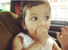 Bollywood actor Shahid Kapoor's daughter Misha has got her ear pierced. The 36-year-old actor shared the news on Instagram on Monday where he also shared a photohgraph of her daughter in a car having a lollipop.