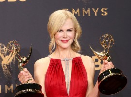Oscar winner Nicole Kidman won her first ever Emmy Award as Outstanding Actress in a Limited Series, for her role in