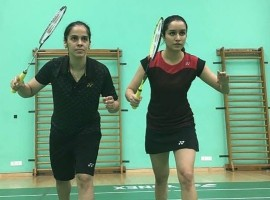 Actress Shraddha Kapoor, who is essaying Saina Nehwal in a Bollywood biopic, was delighted to be coached by India's star shuttler herself and her mentor Pullela Gopichand.