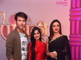 Ritvik Arora, Jannat Zubair and Gauri Pradhan at the launch of Tu Aashiquii on Colors.