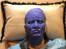 Fans of Indo-Canadian actress Sunny Leone must embrace themselves to see her in a never-seen-before avatar in a new project which will see her using prosthetics. Without divulging details about the project, Sunny posted on social media two images of herself -- and attracted a lot of attention from her fans.
