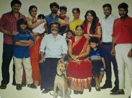Here is a family Photo from Superstar Rajinikanth upcoming movie Kaala.