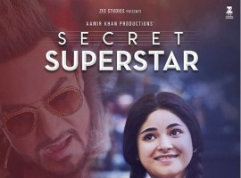 Secret Superstar: Secret Superstar is an upcoming Indian musical drama film, written and directed by Advait Chandan and produced by Aamir Khan and Kiran Rao. The film features Zaira Wasim, Meher Vij and Aamir Khan in lead roles, and tells the story of a child who aspires to be a singer. Secret Superstar is set to release on 19 October 2017.