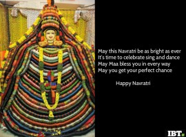 Here comes the nine nights of spirituality, celebrations, music, dance, garba and stuti. May Maa gives you her divine blessings always. Happy Navratri.