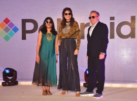 Bollywood actress Anushka Sharma launches new collection of Polaris.