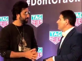 Actor Ranbir Kapoor launches TAG Heuer's latest collection in Mumbai.