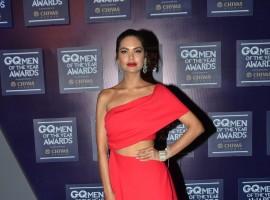 Esha Gupta at GQ Men of the Year Awards 2017.