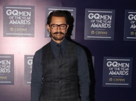 Actor Aamir Khan on the red carpet of