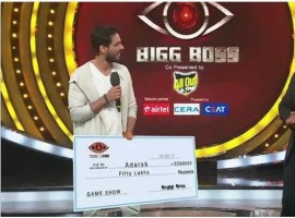 The winner of the season 1 of Bigg Boss Telugu is actor Siva Balaji. He won the Rs 50 lakhs and runner up is Aadarsh.