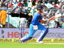 India skipper Virat Kohli equalled his previous incumbent Mahendra Singh Dhoni's run of nine consecutive wins after the series clinching five-wicket win over Australia in the third One-Day International (ODI) here on Sunday. India rode on a superb batting performance to register an unassailable 3-0 lead in the ongoing five-match series against the reigning world champions. After Rohit Sharma and Ajinkya Rahane gave the hosts a steady start, in-form all-rounder Hardik Pandya regaled the packed stands at the Holkar Stadium with some power-packed batting lower down the order.