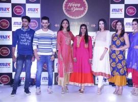 South Indian Actress Aishwarya Rajesh launches Max Fashion Festive collection.