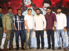 Telugu movie Jai Lava Kusa success meet event held at Hyderabad. Celebs like Jr NTR, Posani Krishna Murali, Dil Raju, Chota K Naidu, Nandamuri Kalyan Ram and others graced the event.