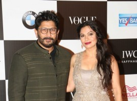 Arshad Warsi with his wife Maria Goretti at Vogue Women of the Year 2017.