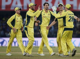 Australia dominated with both bat and ball to defeat India by 21 runs in the fourth One-Day International (ODI) at the M. Chinnaswamy Stadium here on Thursday. The hosts have already won the five-match series 3-1. Electing to bat, Australia produced a challenging total of 334/5 in their 50 overs thanks to a 231-run opening stand by David Warner and Aaron Finch. Warner top scored for the visitors with 124 runs off 119 deliveries, hitting 12 boundaries and four sixes along the way.