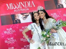 Aarzu Singh of Gold Coast, Queensland, has been crowned Miss India Australia 2017 in Sydney, an organiser said on Thursday. Mallika Raj from Canberra was the runner-up.