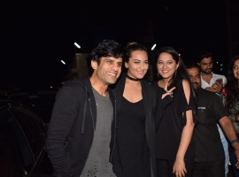 Juno Chopra attended the special screening of Sajid Nadiadwala's 'Judwaa 2' along with his 'Ittefaq' actor Sonakshi Sinha. After garnering appreciation for his maiden project 'Bareilly Ki Barfi', Juno Chopra is currently working on his next film 'Ittefaq' starring Sonakshi Sinha and Sidharth Malhotra.