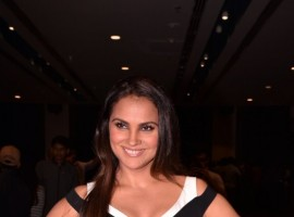 Lara Dutta during the Miss Diva Contest 2017.