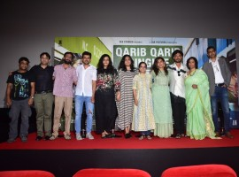 The trailer of the quirky tale of love starring the Hindi Medium star Irrfan Khan and the South Indian star Parvathy titled 'Qarib Qarib Singlle' released on Friday at an event in Mumbai and has got everyone intrigued into the unusual tale of contemporary online dating.