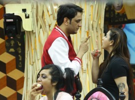 On the other side, the unsuspecting contestants continue with their daily shenanigans. The enmity between Shilpa and Vikas seems to be getting fiercer by the day with Shilpa admitting that she will ensure that Vikas' life is as miserable in the house as it can possibly be. In a fit of rage, Vikas throws an egg on the kitchen floor and refuses to clean it up. His rising temper further adds fuel to the fire – leading to everyone turning against him.