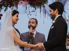 The marriage of actress Samantha and Naga Chaitanya was a private affair and it was attended by the couple family members and close friends.